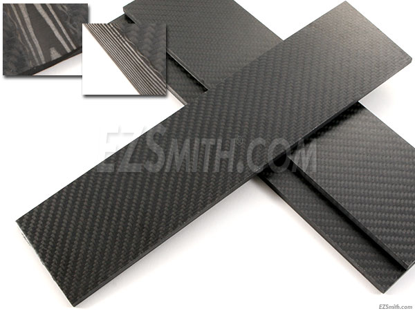 carbon fiber uniderctional new handle material the knife network