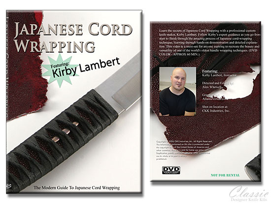 Japanese Cord Wrapping with Kirby Lambert | Knife Making