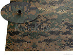 KYDEX® Sheet - Forest Digital Camo - Infused - (.080)