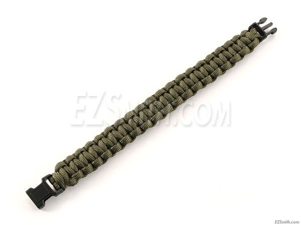 environ 249.48 kg TYPE III Paracord Survie Corde Bracelet-Made in the USA Vert émeraude 550 LB
