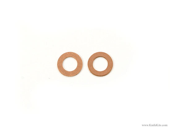 Phosphorous-Bronze Replacement Washers   Knife Making Kits