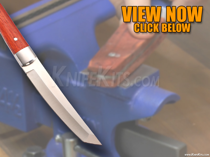 DIY Video - How To Build: The Sensei (Japanese Tanto) Knife Kit by